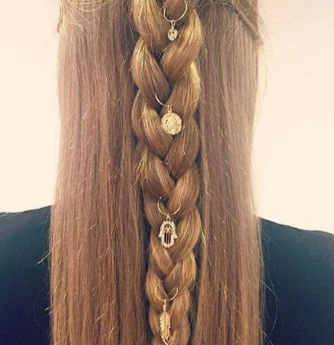 saç küpeleri modelleri