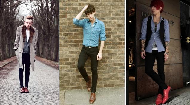 calça skinny como usar modo de usar masculina onde encontrar modelos super justa