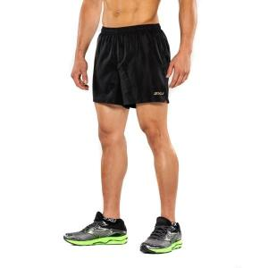 2XU GHST 5″ Mens Running Shorts – Black/Gold