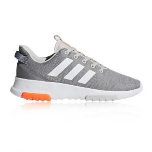 Adidas Cloudfoam Race TR – Kids Boys Running Shoes – Chalk Pearl/White/Hi-Res Orange