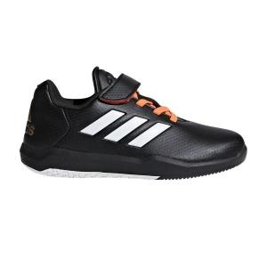 Adidas Altaturf Predator – Kids Turf Shoes – Black/White/Orange