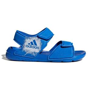 Adidas AltaSwim C – Kids Boys Sandals – Blue/Footwear White