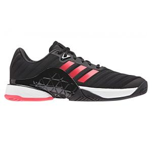 Adidas Barricade 2018 – Mens Tennis Shoes – Core Black/Flare Red