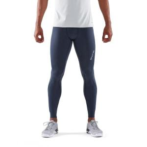 Skins DNAmic Core Mens Long Compression Tights – Navy Blue