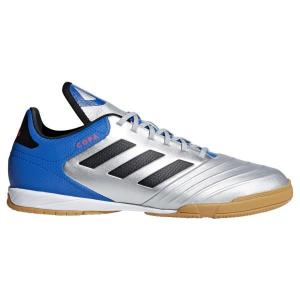 Adidas Copa Tango 18.3 IN – Mens Futsal/Indoor Soccer Shoes – Silver/Core Black/Football Blue