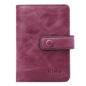 12 Card Slots Genuine Leather Small Wallet