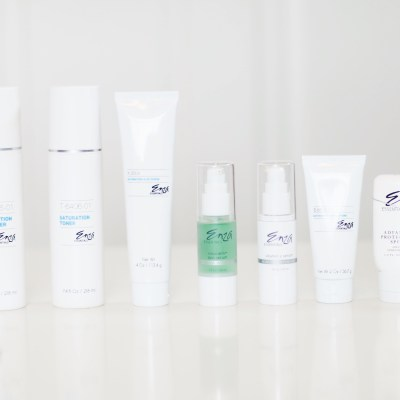 SKIN ROUTINE CARE WITH ENZA