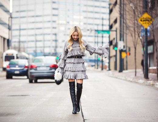 Alena Gidenko of modaprints.com sharing tips on how to layer in the winter