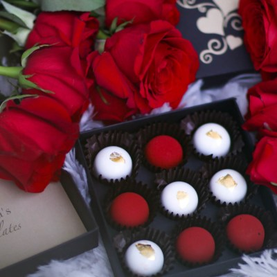 VALENTINE'S DAY GIFT IDEA WITH VICTORIA'S CHOCOLATES