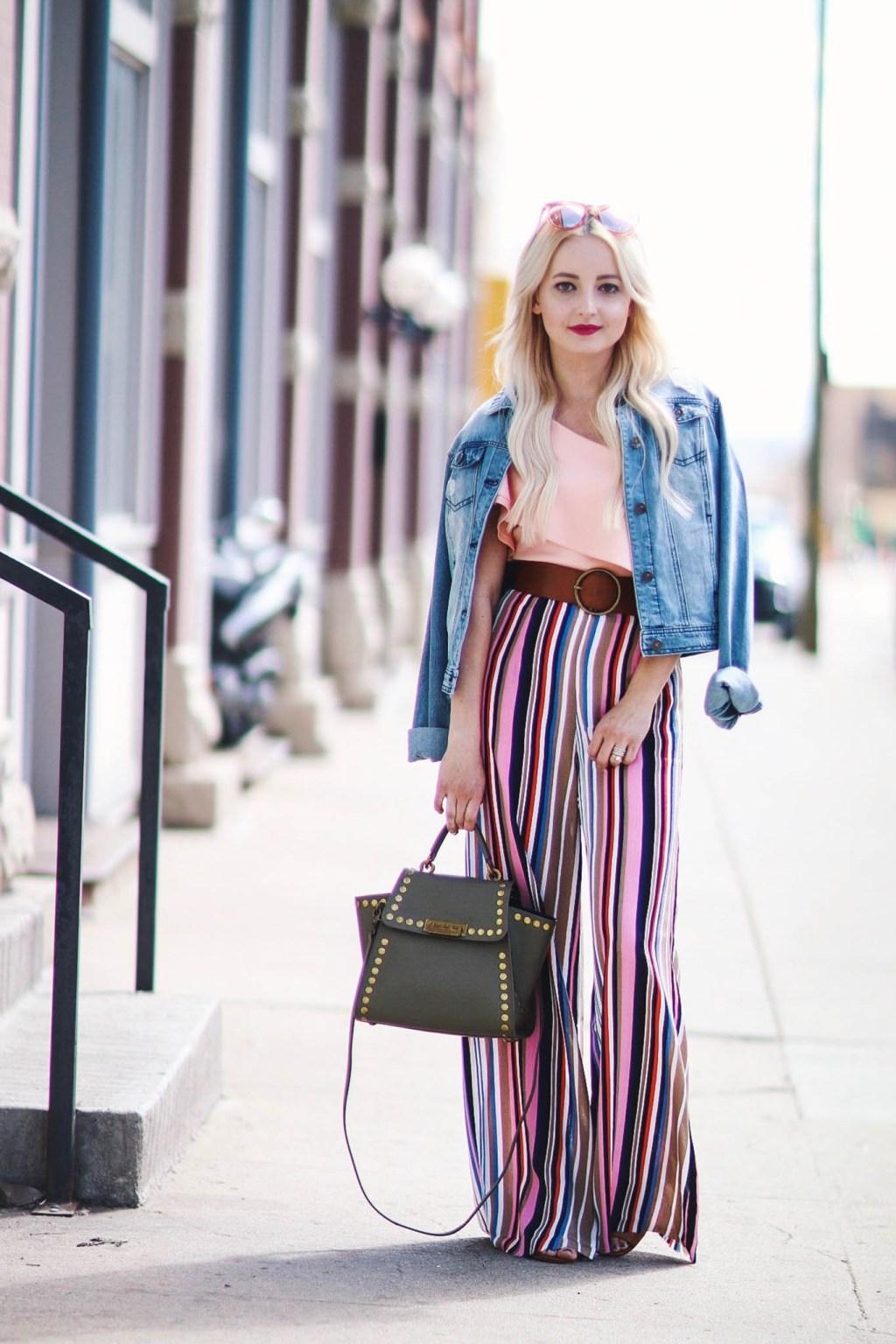 Alena Gidenko of modaprints.com shares a very chic look for Spring