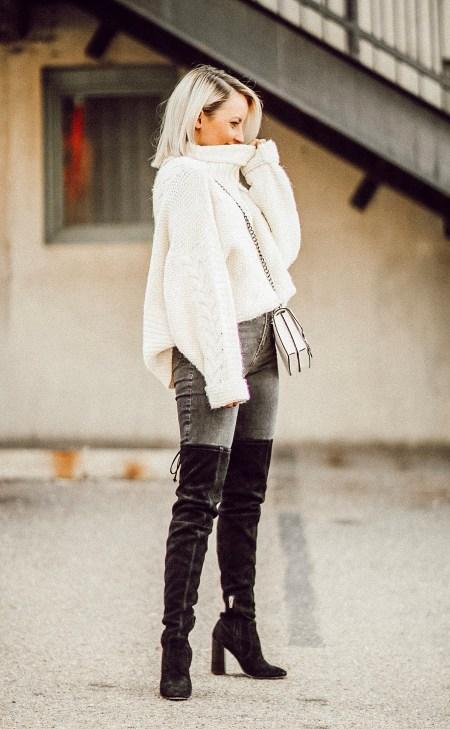 Alena Gidenko of modaprints.com shares her favorite cozy sweaters under $50
