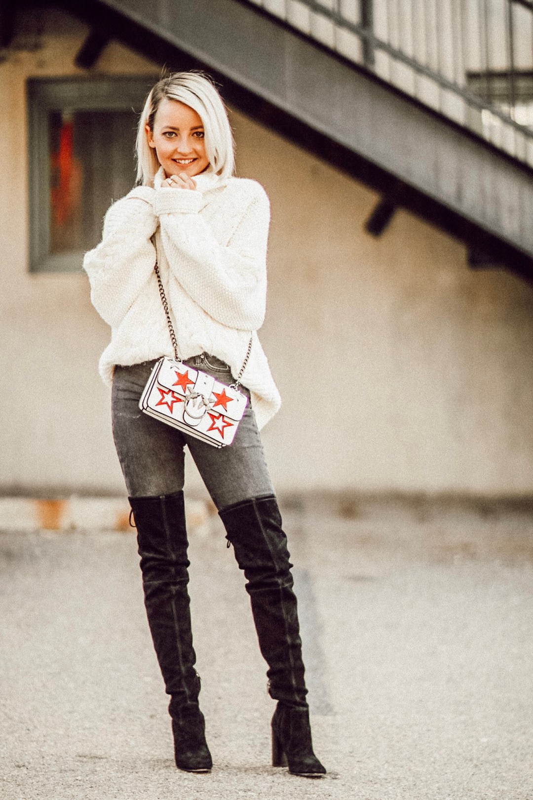 Alena Gidenko of modaprints.com shares her favorite cozy sweaters under $50