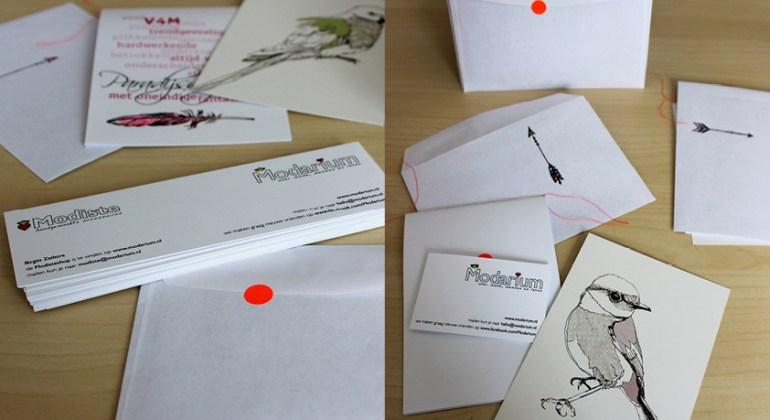 Modarium beeld bij Paradijsvogelsblog 09 trend boekje give-away diploma uitreiking