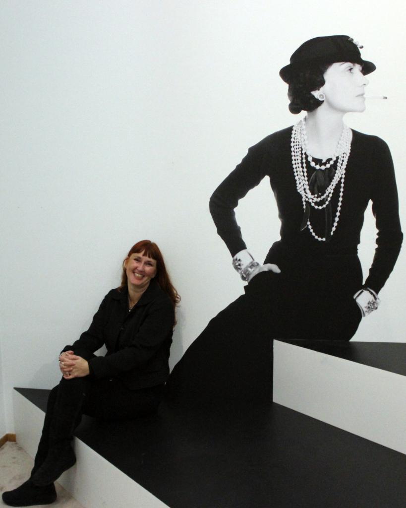 Modarium beeld Chanel and me