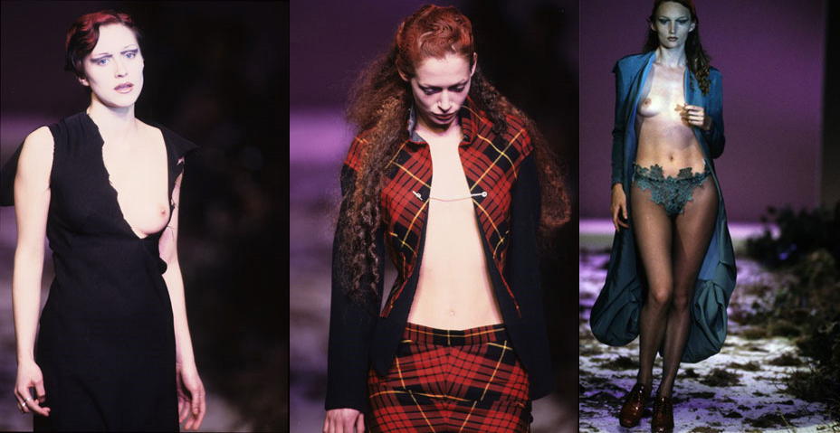 Modarium beeldcollage werk Alexander McQueen 1995 deel 2