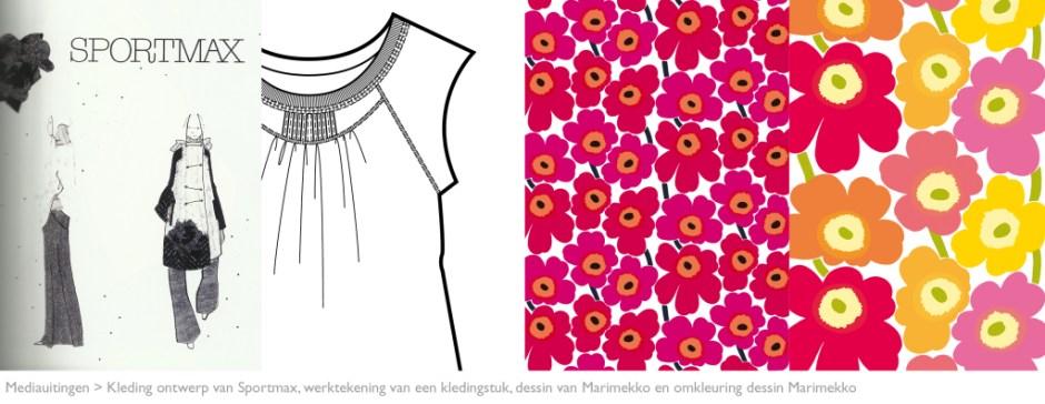 MODARIUM beeld van mediauitingen modebranche werktekening en dessin 05