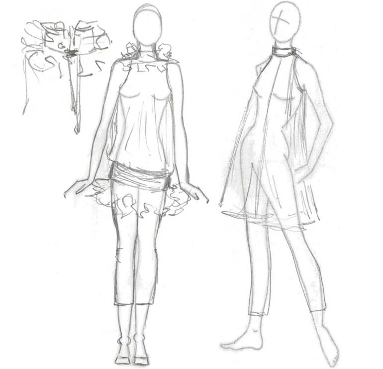 Modarium fashion drawings