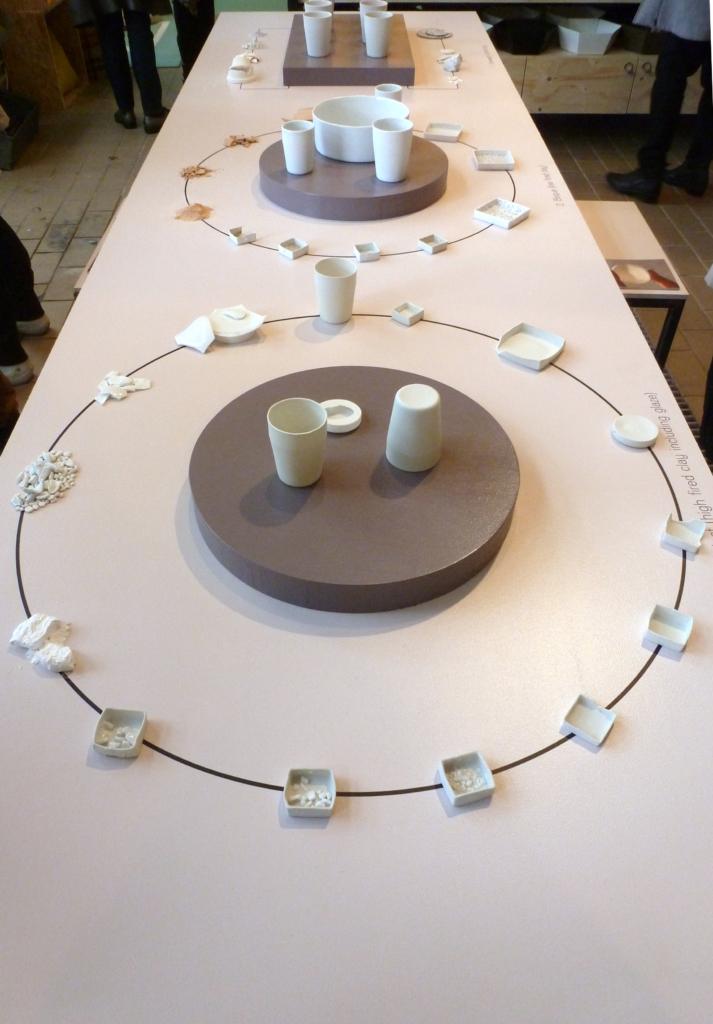 Modarium trends voor de toekomst Shadows of light porcelein