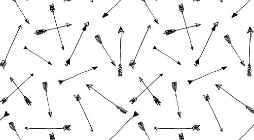 MODARIUM onregelmatig strooimotief pijlen uitgelicht pijlen dessin