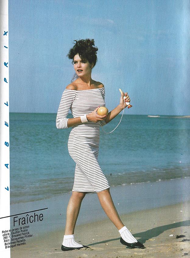 1983 Mai Depeche mode special pret-a-porter No 28 label prix pag 105