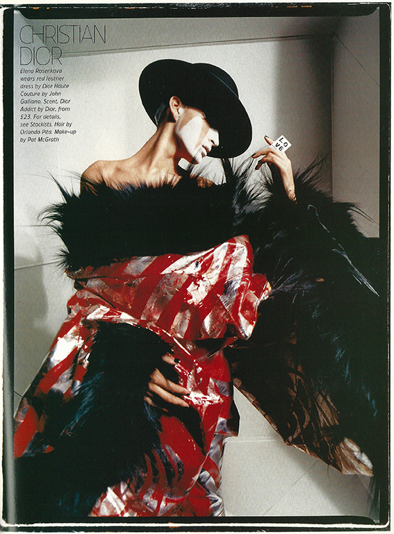 2003 May Tatler UK Volume 298 Nr 5 Haute Couture pag 161