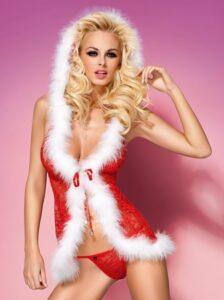 lingerie-natalizia-xmas-babydoll
