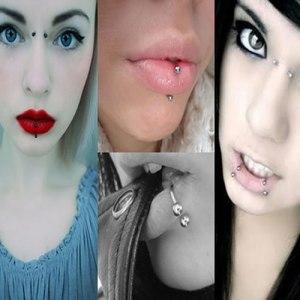 Burunda, dilinizde veya kaşınızda piercing yaptırmayın,
