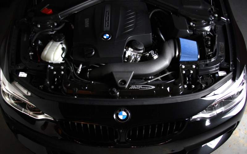 BMS Burger Motor Sport BMW F30 335i Intake N55 Installed 4