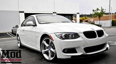 BMW E90 E92 E93 M3 Kerscher Style M Sport Carbon Fiber Front Splitter