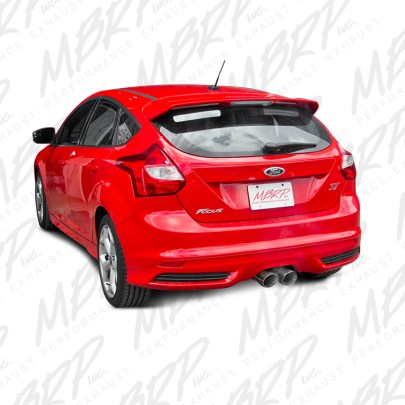 MBRP Focus ST Cat Back Exhaust for 2013-14 Models at ModBargains 2