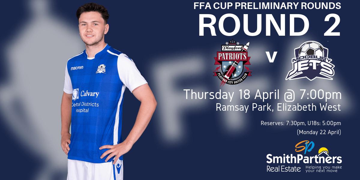 FFA Cup Round 2 v Playford-2