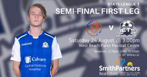 State League 1 Semi-Final 1st Leg v Sturt
