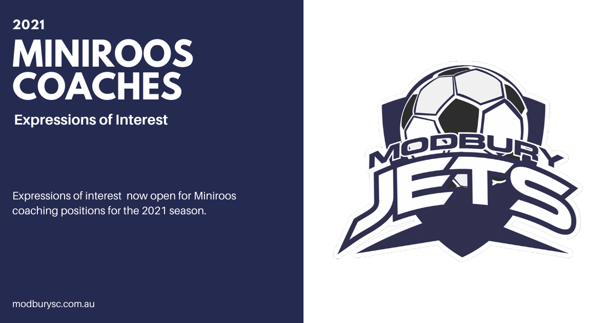MiniRoos Coaches 2021