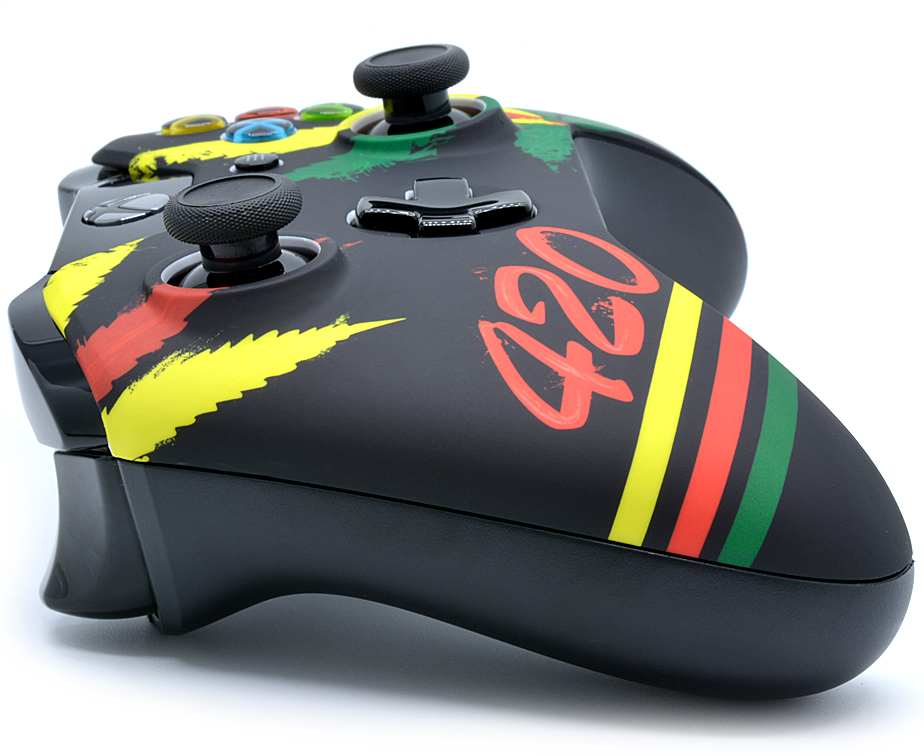 420 Xbox One Modded Controller