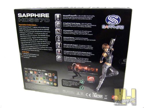 Sapphire HD5670 Graphics Card
