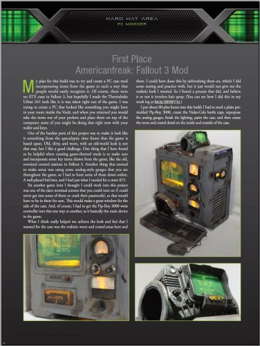 CPU Mag -- 1st Place Fallout 3 Mod