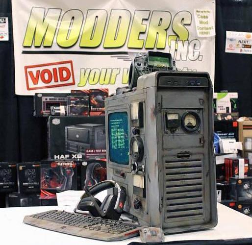 Fallout 3 Case Mod by Dewayne Carel of Modders-Inc