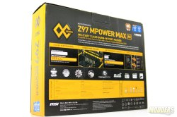 MSI Z97 MPower MAX Packaging