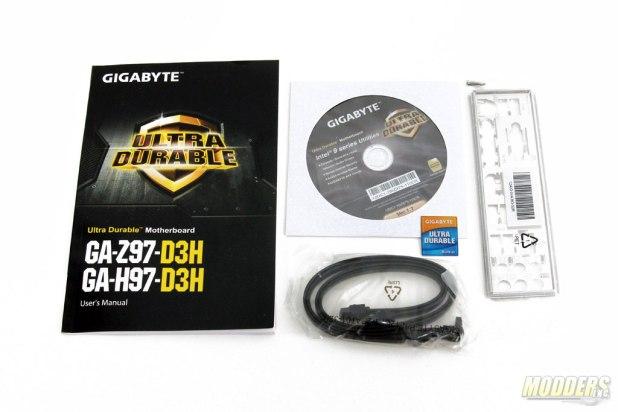Gigabyte Z97-D3H Accessories