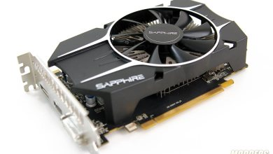 Sapphire R7 260X 100366-3L Video Card 3/4 View