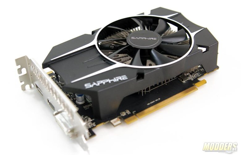 Sapphire R7 260X 100366-3L Video Card 3/4 View
