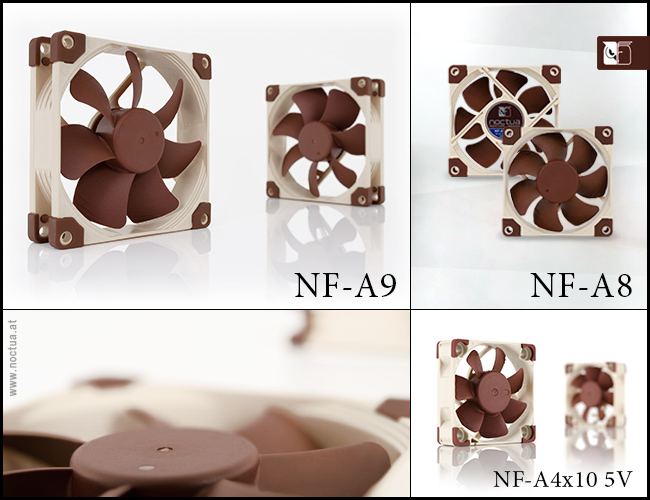 Noctua small A-series fans