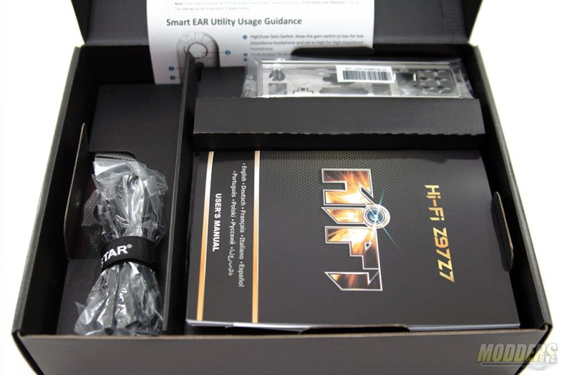 Biostar Hi-Fi Z97Z7 Motherboard Box Packaging