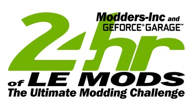 24hrs of LE MODs Case Mod Contest