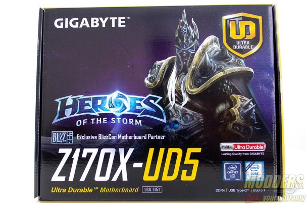 Gigabyte Z170X-UD5 Box Front