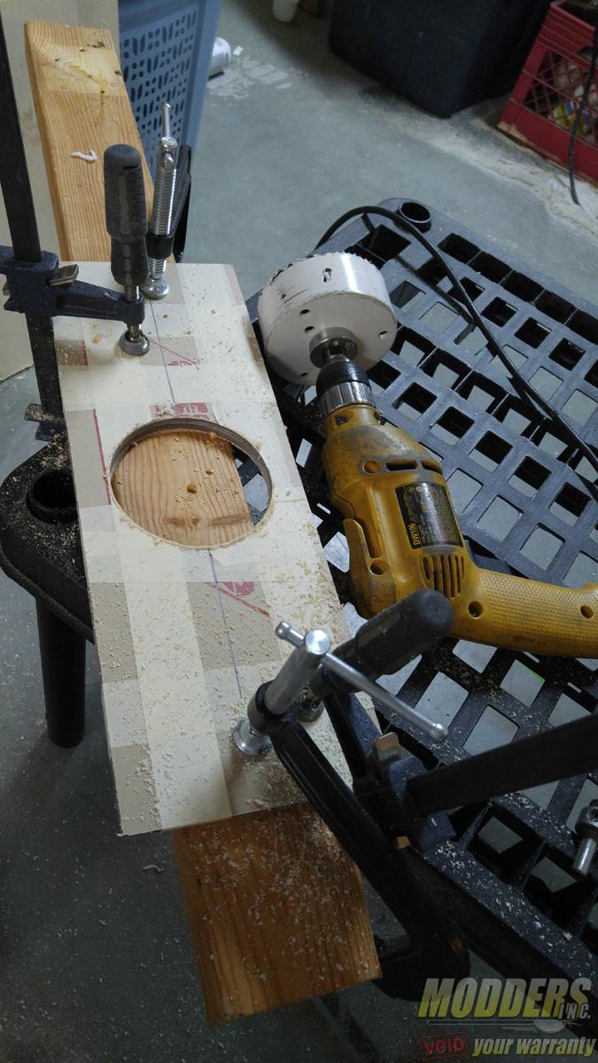 How To Cut a Fan Hole In Acrylic