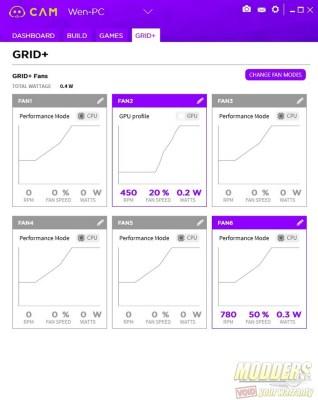 CAM Grid plus tab