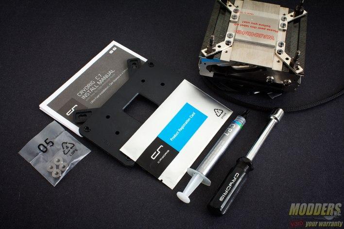 CRYORIG C7 CPU Cooler Accessories
