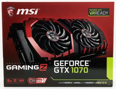 GEFORCE® GTX 1070 GAMING Z 8G