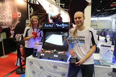 "Stefan Ulrich & Kathrin Diederich - ""Arcade Dragon"" - 2nd Place CaseCons Category"